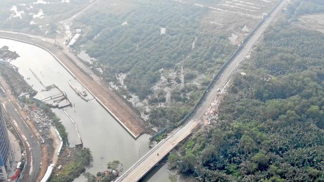 Con đường ven sông trị giá tỷ đô ở Sài Gòn nhìn từ trên cao - Ảnh 5.