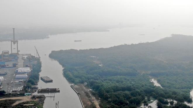 Con đường ven sông trị giá tỷ đô ở Sài Gòn nhìn từ trên cao - Ảnh 9.