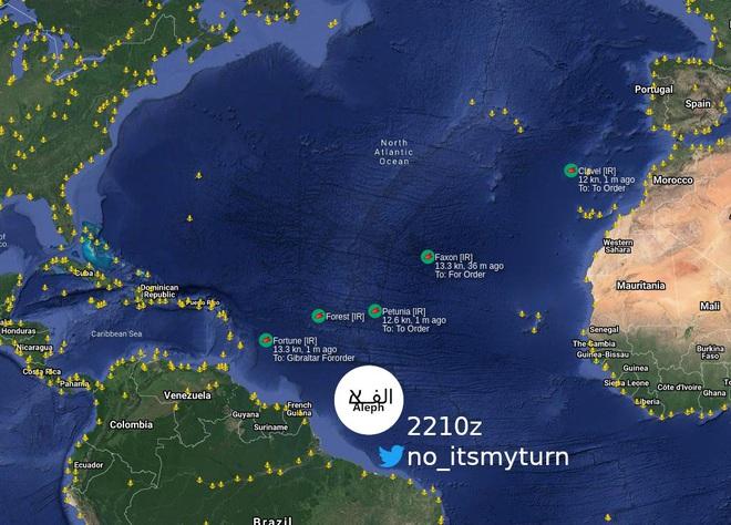 NÓNG: Máy bay, tàu chiến Mỹ ồ ạt xuất kích, trận sinh tử có thể sắp bắt đầu - Quân đội Venezuela hạ quyết tâm chiến đấu, bảo vệ tàu dầu Iran - Ảnh 18.