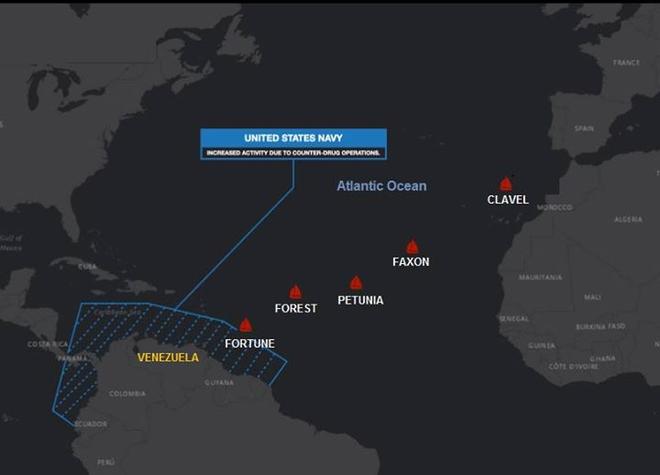 NÓNG: Máy bay, tàu chiến Mỹ ồ ạt xuất kích, trận sinh tử có thể sắp bắt đầu - Quân đội Venezuela hạ quyết tâm chiến đấu, bảo vệ tàu dầu Iran - Ảnh 6.