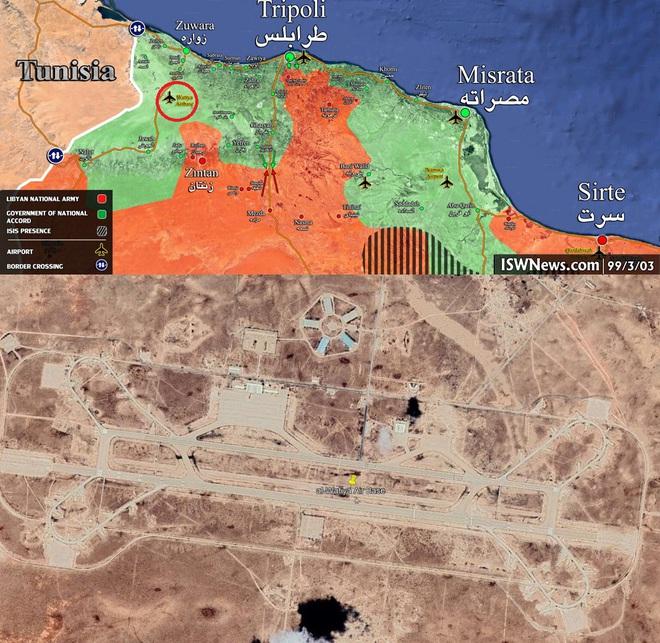 6 MiG-29 và 2 Su-24 Nga tới Libya: Đập tan âm mưu thiết lập Khmeimim thứ 2 của Thổ? - Ảnh 2.