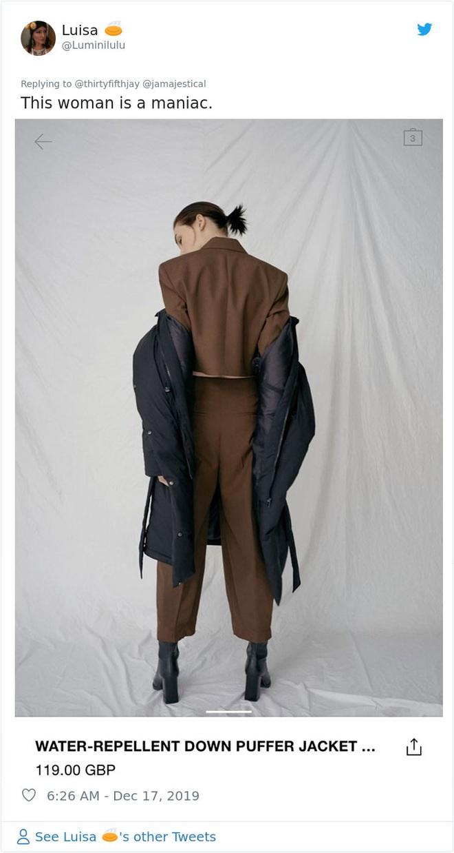 Dân mạng khóc thét khi mua sắm online đồ Zara vì tư thế khó đỡ của người mẫu chụp tại nhà - Ảnh 2.
