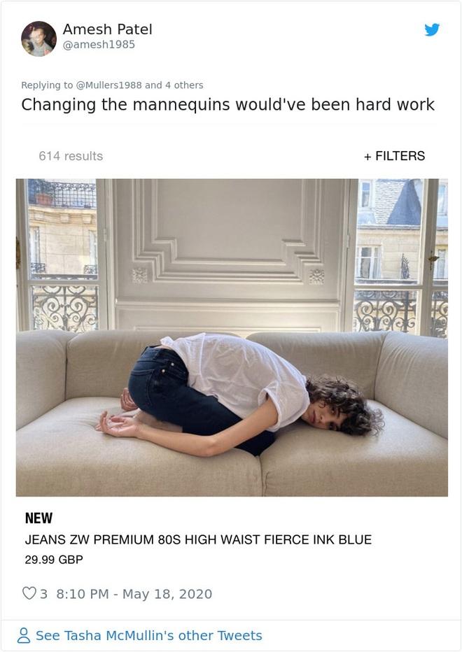 Dân mạng khóc thét khi mua sắm online đồ Zara vì tư thế khó đỡ của người mẫu chụp tại nhà - Ảnh 16.
