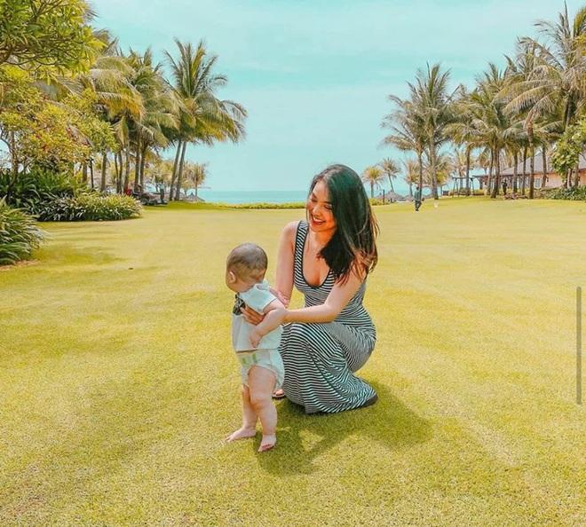 Vóc dáng gợi cảm của Lan Khuê sau 6 tháng sinh con - Ảnh 5.