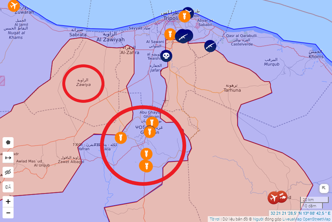 Giữa căng thẳng với Iran, tàu chiến Mỹ tập trận trên Vịnh Ba Tư - Tướng Haftar ra lệnh hủy diệt lực lượng Thổ Nhĩ Kỳ, 13 UAV bị bắn hạ trong 72 giờ - Ảnh 1.