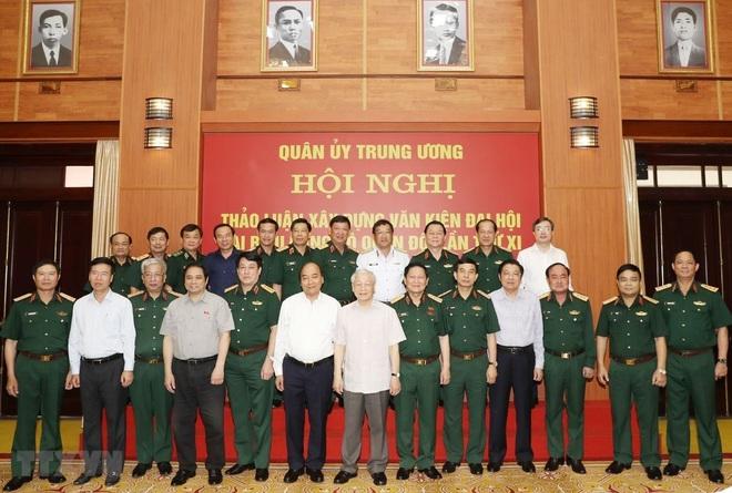 Chuẩn bị thật tốt nhân sự Quân đội tham gia Trung ương khóa mới - Ảnh 2.