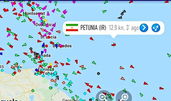 NÓNG: Đối đầu nghẹt thở, Venezuela và Iran thắng 1-0, tàu dầu Iran cắt mặt tàu đặc chủng mang cờ Mỹ - Ảnh 10.