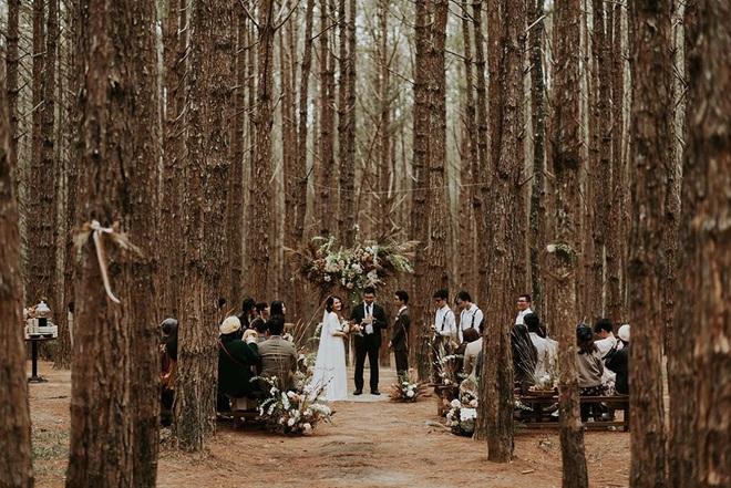 Đám cưới đặc biệt như phim của cô dâu nhà nghề ở Đà Lạt: Chỉ có 50 khách mời, không chụp trước hình cưới và thật nhiều nước mắt - Ảnh 4.