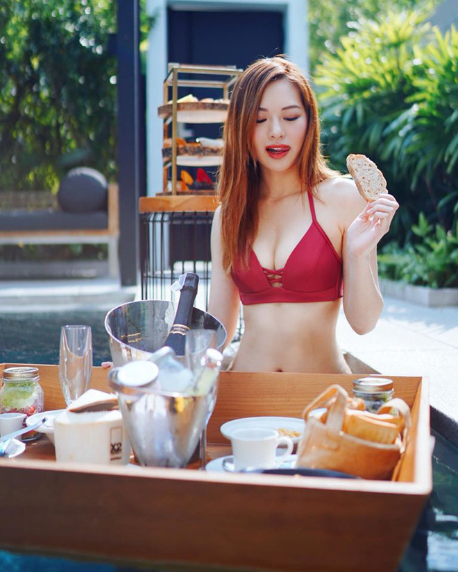 Hoa hậu Hong Kong hẹn hò thiếu gia sòng bạc Macau: Gia thế khủng và gợi cảm cỡ nào? - Ảnh 12.