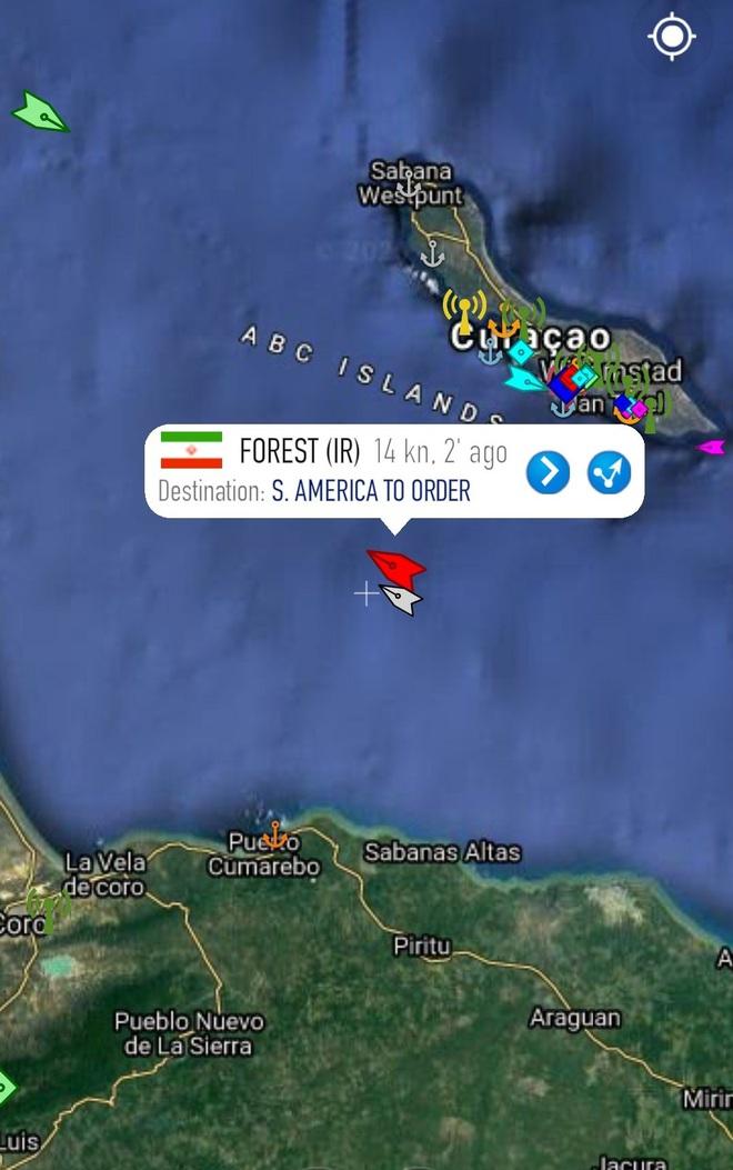 NÓNG: Liên tiếp đột phá, tỷ số sắp là 3-0, Venezuela-Iran dẫn trước - Cái gọi là vòng vây của Hải quân Mỹ rách toang? - Ảnh 8.
