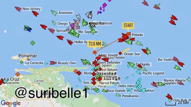 NÓNG: Liên tiếp đột phá, tỷ số sắp là 3-0, Venezuela-Iran dẫn trước - Cái gọi là vòng vây của Hải quân Mỹ rách toang? - Ảnh 2.