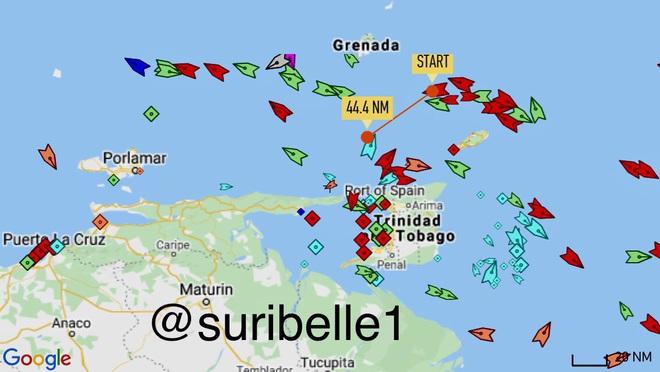 NÓNG: Liên tiếp đột phá, tỷ số sắp là 3-0, Venezuela-Iran dẫn trước - Cái gọi là vòng vây của Hải quân Mỹ rách toang? - Ảnh 1.