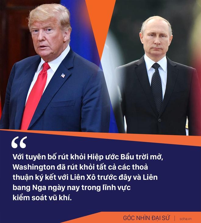 Ông Trump dọa rút khỏi Hiệp ước Bầu trời mở: Nga chẳng đớn đau, đồng minh Mỹ lại lãnh đủ - Ảnh 2.