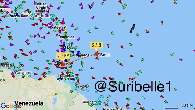 NÓNG: 3-0, Iran và Venezuela dẫn trước ngoạn mục trước hạm đội hùng hậu HQ Mỹ - Dấu hiệu tàu khóa đuôi bị chặn bắt? - Ảnh 18.