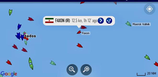 NÓNG: 3-0, Iran và Venezuela dẫn trước ngoạn mục trước hạm đội hùng hậu HQ Mỹ - Dấu hiệu tàu khóa đuôi bị chặn bắt? - Ảnh 19.