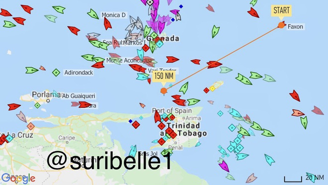 NÓNG: 3-0, Iran và Venezuela dẫn trước ngoạn mục trước hạm đội hùng hậu HQ Mỹ - Dấu hiệu tàu khóa đuôi bị chặn bắt? - Ảnh 1.