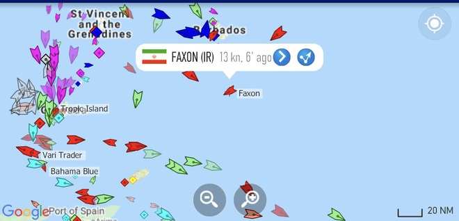 NÓNG: 3-0, Iran và Venezuela dẫn trước ngoạn mục trước hạm đội hùng hậu HQ Mỹ - Dấu hiệu tàu khóa đuôi bị chặn bắt? - Ảnh 2.