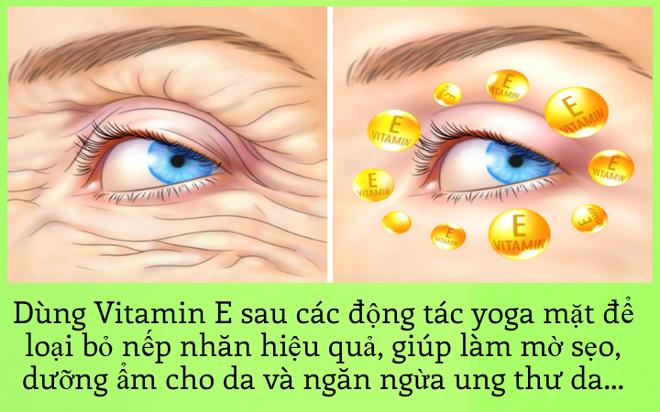 Xóa nếp nhăn hiệu quả với bài tập yoga mặt đơn giản - Ảnh 8.
