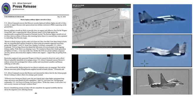 Tố cáo Nga ồ ạt can thiệp vào chiến sự Libya, QĐ Mỹ hứng gạch đá của truyền thông Arab - Ảnh 3.