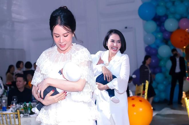 Sắc vóc vợ hai kém 8 tuổi của MC Thành Trung sau khi sinh đôi - Ảnh 3.