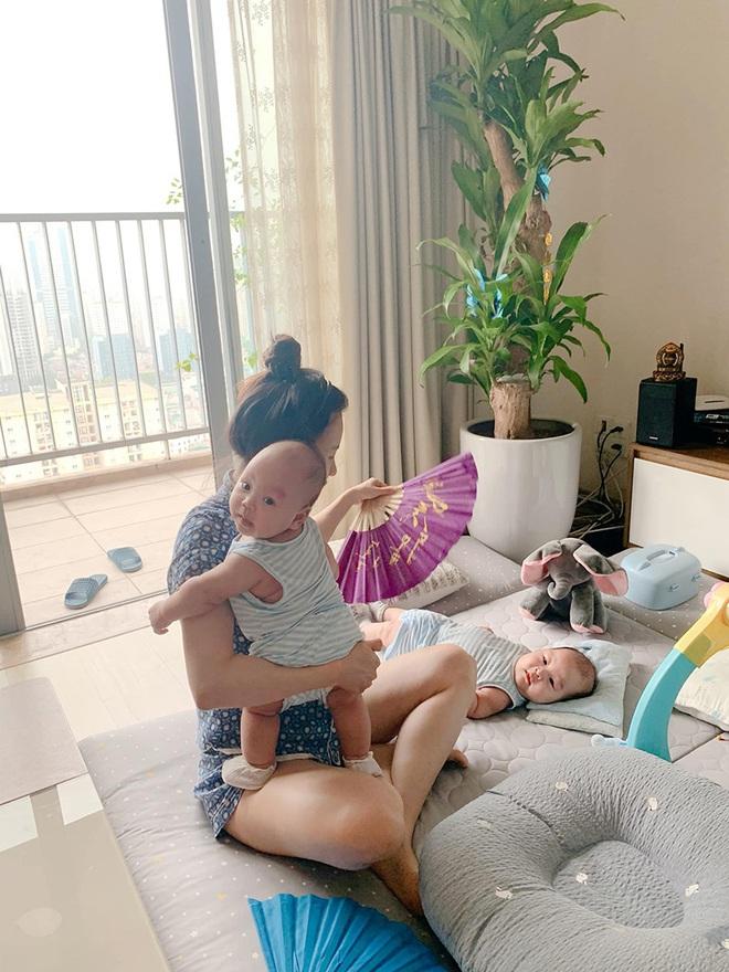 Sắc vóc vợ hai kém 8 tuổi của MC Thành Trung sau khi sinh đôi - Ảnh 5.