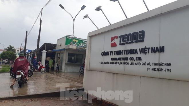 Công an làm việc với Trưởng đoàn Kiểm tra thuế Cty TNHH Tenma Việt Nam - Ảnh 1.