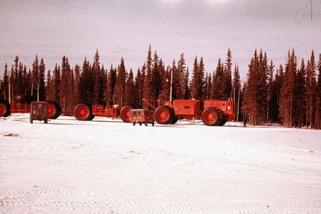 Truyền kỳ về xe lửa mặt đất - những con quái vật được quân đội Mỹ sử dụng ở vùng Cực Bắc - Ảnh 4.