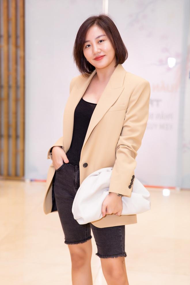 Văn Mai Hương mặc cá tính đi sự kiện - Ảnh 1.