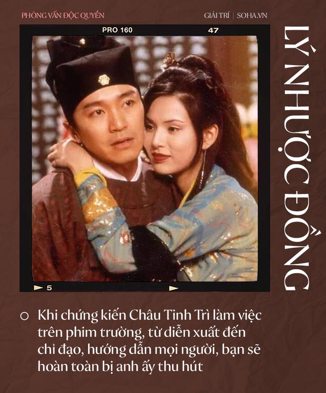 Lý Nhược Đồng nói về tình cảm dành cho Dương Quá, Cổ Thiên Lạc và người đặc biệt Châu Tinh Trì - Ảnh 9.