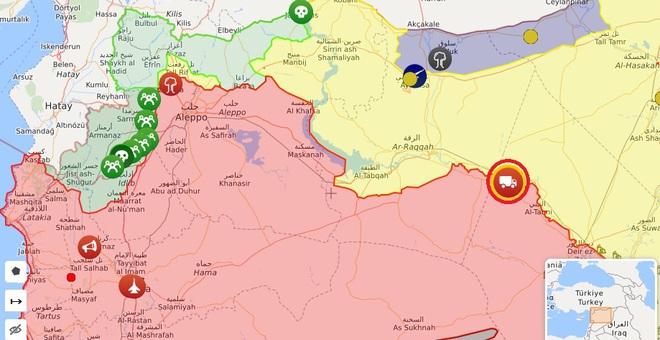Chiến đấu cơ KQ Syria và Thổ Nhĩ Kỳ liên tiếp bị tiêu diệt - Iran đột ngột đạn đã lên nòng, toàn bộ tàu chiến Mỹ nguy hiểm - Ảnh 1.
