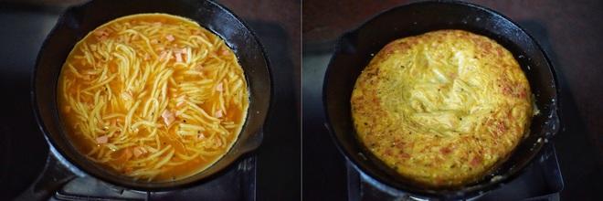 Rảnh rỗi tôi thử làm bánh trứng khoai tây: Món dễ làm mà khiến trẻ con trong nhà đều thích mê - Ảnh 4.