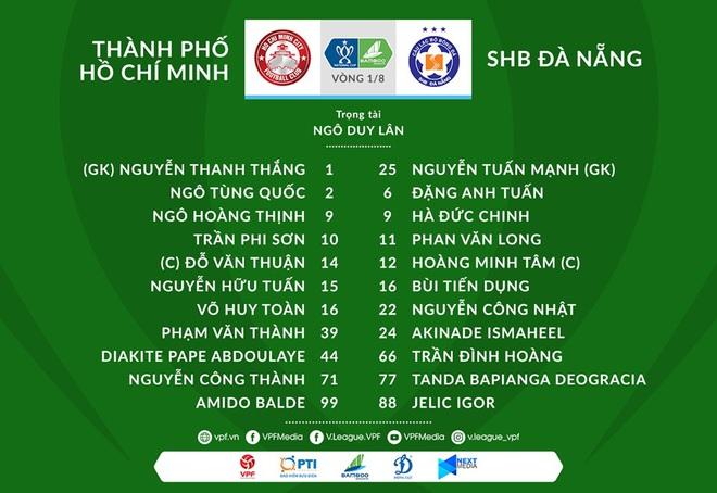 CLB TP.HCM 0-0 (pen 3-2) Đà Nẵng: Thủ môn Bùi Tiến Dũng sắm vai người hùng trong loạt đá 11m - Ảnh 2.