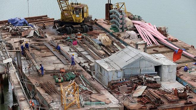 Khám phá cầu đường bộ dài nhất miền Trung nối Nghệ An và Hà Tĩnh - Ảnh 13.
