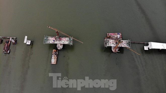 Khám phá cầu đường bộ dài nhất miền Trung nối Nghệ An và Hà Tĩnh - Ảnh 4.