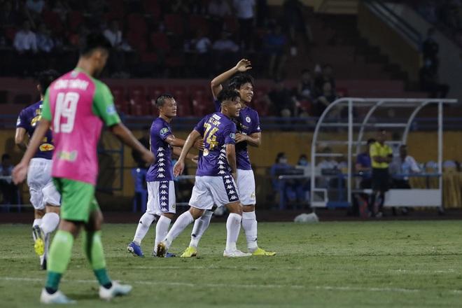 KẾT THÚC cúp QG 2020 Hà Nội 3-0 Đồng Tháp: Trận cầu phung phí của Quang Hải và đồng đội - Ảnh 4.