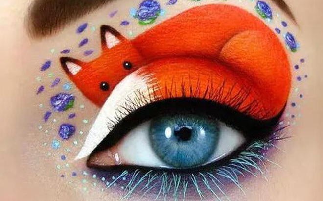 Chọn họa tiết đẹp nhất trên đôi mắt để biết được mức độ yêu bản thân của bạn đến đâu, tự cao tự đại hay biết người biết ta