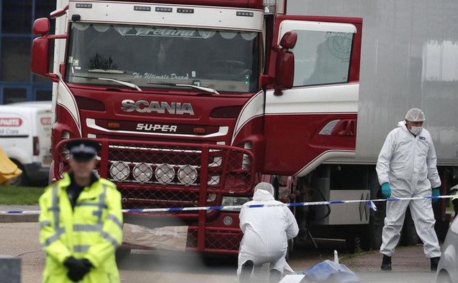 Pháp bắt giữ 13 người liên quan vụ 39 người Việt tử vong trong container
