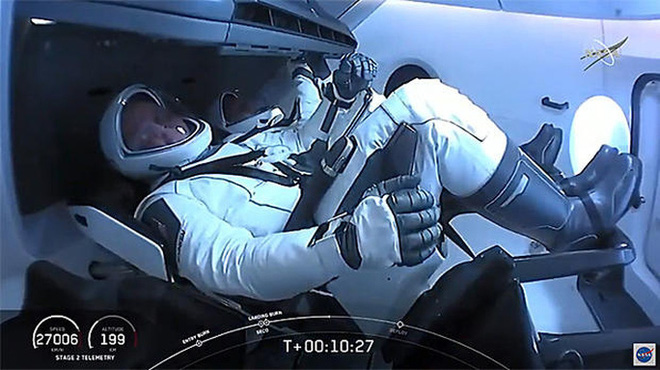 SpaceX đưa phi hành gia vào vũ trụ, Mỹ sắp thoát cảnh quá giang Nga? - Ảnh 3.