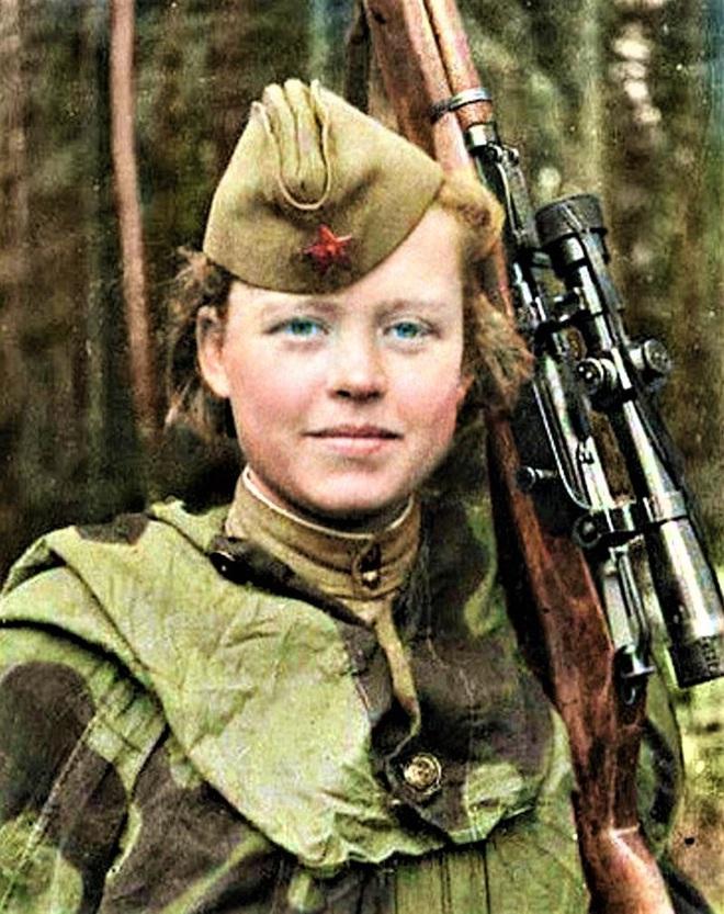 11 nữ xạ thủ bắn tỉa nguy hiểm nhất của Liên Xô - Ảnh 2.