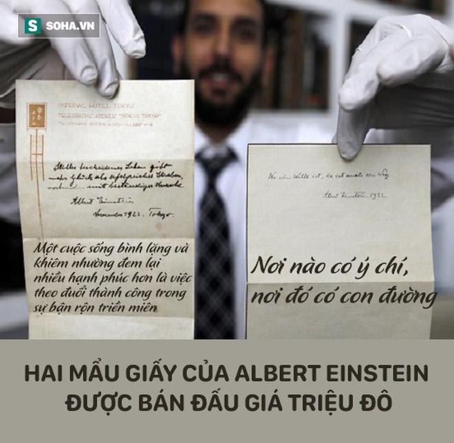Cậu bé đưa thư cho Einstein được tặng quà, nhiều năm sau họ hàng của cậu nhận được thứ không ngờ - Ảnh 5.
