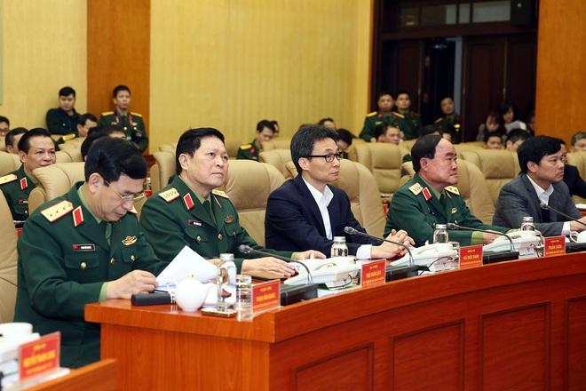 Thượng tướng Nguyễn Chí Vịnh kể chuyện quân đội chống giặc COVID-19 - Ảnh 2.