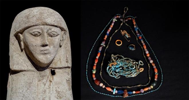 Giải mã bí ẩn xác ướp niên đại 3.500 tuổi của thiếu nữ mặc áo cưới trong cỗ quan tài chứa đầy báu vật cổ xưa - Ảnh 1.