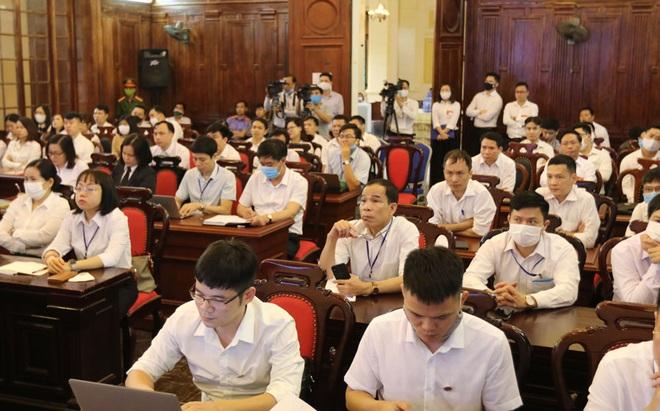 [Ảnh] Bên trong phiên tòa giám đốc thẩm vụ án Hồ Duy Hải, kỳ án kéo dài 10 năm chưa có hồi kết - Ảnh 11.