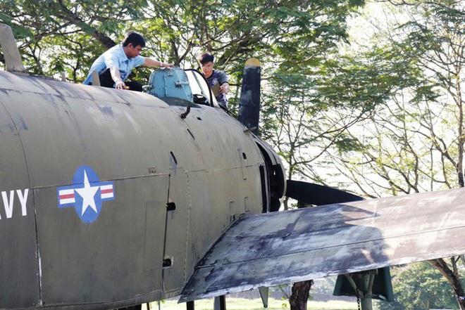Mục kích quân đội tháo rời máy bay tại Huế chuyển về bảo tàng - Ảnh 15.