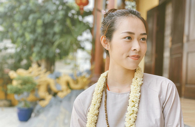 Diệp Bảo Ngọc góp sức làm thiện nguyện trong ngày Phật Đản - Ảnh 4.