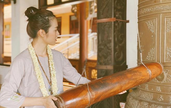 Diệp Bảo Ngọc góp sức làm thiện nguyện trong ngày Phật Đản - Ảnh 7.