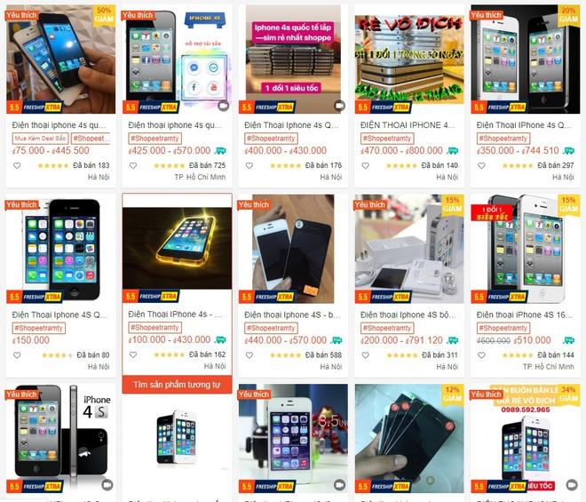 Cẩn trọng với những chiếc iPhone giá rẻ được bán tràn lan trên thị trường - Ảnh 1.