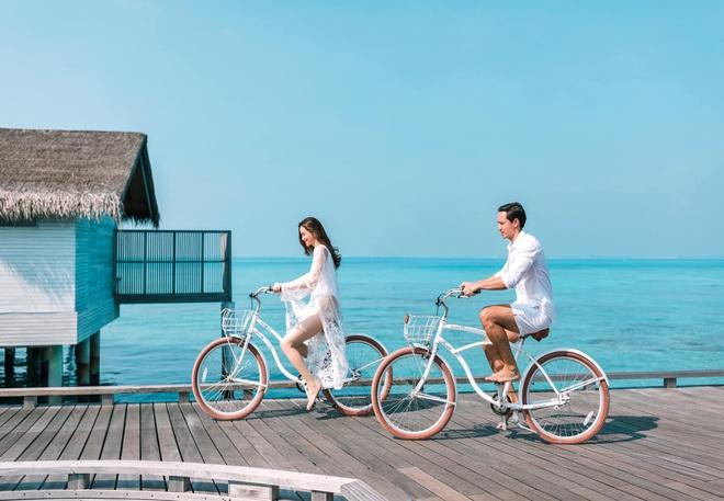 Hồ Ngọc Hà tung ảnh bikini nóng bỏng, tình tứ bên Kim Lý - Ảnh 6.