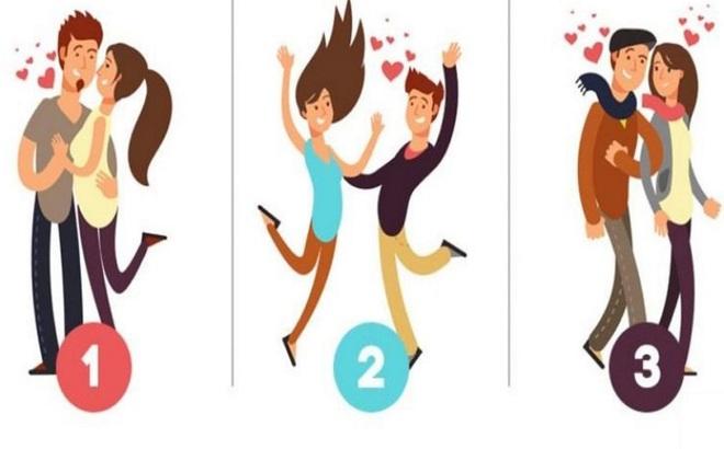 Hãy chọn một đôi bạn thấy hạnh phúc nhất để xem tình yêu của bạn lâu bền, mãnh liệt thế nào