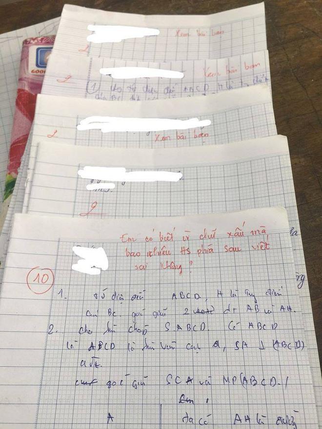 Bài kiểm tra được điểm 10 nhưng lời phê của giáo viên có 1-0-2 khiến ai cũng chú ý - Ảnh 1.